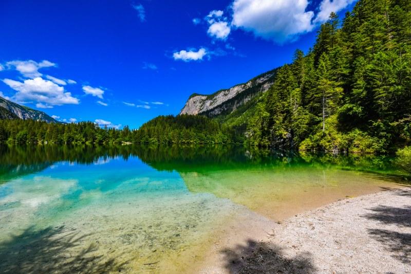 Lago di Tovel in Trentino