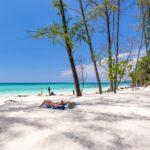 Spiaggia Bamboo Island