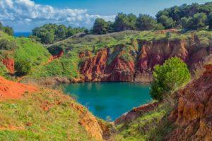Cava di Bauxite a Otranto