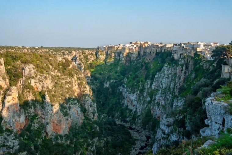 Gravine di Castellaneta in Puglia